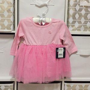 Super cute pink dress for girl!